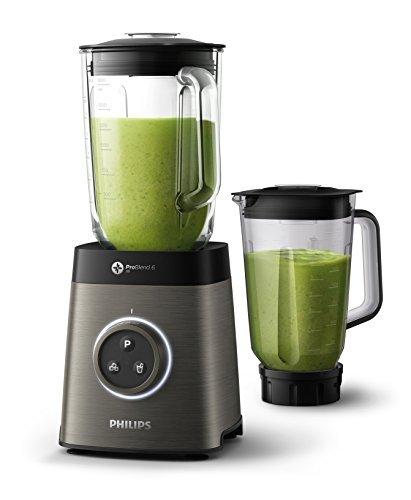 41L7MkJnNfL - homgeek Mixer Smoothie Maker, Mini Blender mit Tragbarer BPA-freie 500ML Flasche, Tragbar Mini Standmixer für Shake, Smoothie, Eis, Getränk von Obst und Gemüse, 300 Watt, 25,000 U/Min, Schwarz