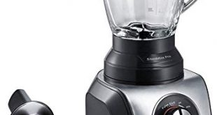 Bosch MMB66G5MDE SilentMixx Pro Standmixer extrem leise Glasblender High Speed Programm 310x165 - Bosch MMB66G5MDE SilentMixx Pro Standmixer, extrem leise, Glasblender, High-Speed Programm, 33.000 Motorumdrehungen/Min., einfache Reinigung, schwarz